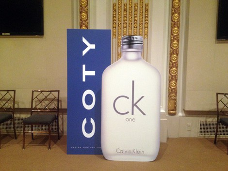 National Flag & Banner produces Custom Displays for the COTY IPO