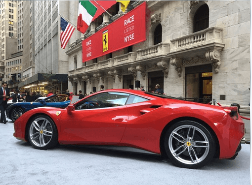 National Flag and Display produces the Custom Banners for Ferrari IPO at New York Stock Exchange - Read more