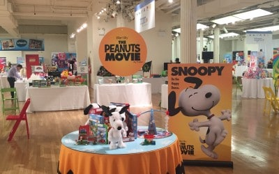 National Flag & Display produces promotional piece for the new Peanuts movie