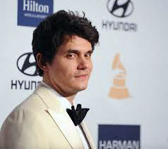 John Mayer - Clive Davis Pre Grammy Party (step and repeat banners produced by National Flag and Display)