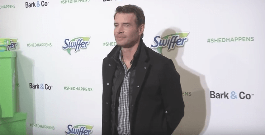 Swiffer, Bark & Co. and Actor Scott Foley Partner This Holiday - Step and Repeat and Display Banners for Swiffer and Bark & Company produced by National Flag & Display (NYC)