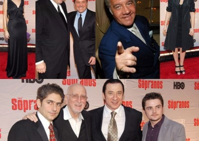 Sopranos HBO Custom Banners, Step & Repeat Banners, Flags, Displays manufactured by National Flag & Display (New York, NY)