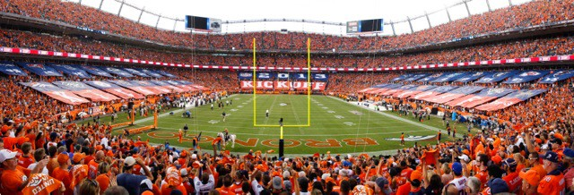 National Flag & Display (NYC) - NFL Kick-Off Game in Denver where the The Super Bowl champion Ravens faced the Broncos in a much-anticipated season opener.