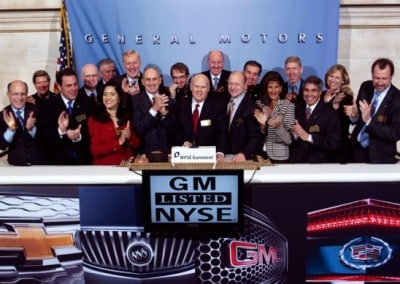NYSE - GM Listed event - Custom Banners, Step & Repeat Banners, Flags, Displays - National Flag & Display (New York, NY)