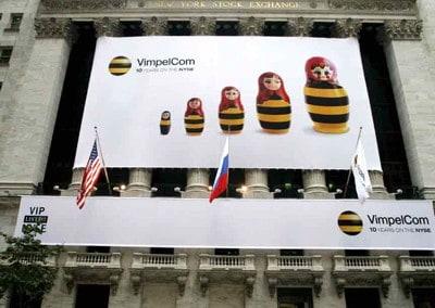 NYSE - Vimpel.com