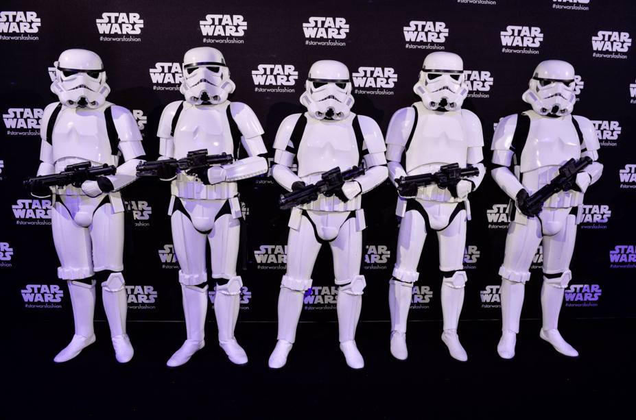 National Flag & Display creates custom Step and Repeat Backdrop for Star Wars exhibit