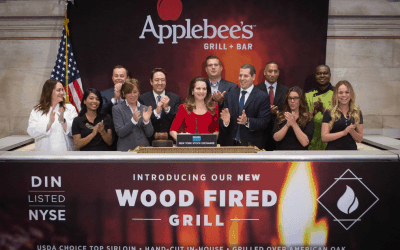 National Flag & Display produces Custom Banners at New York Stock Exchange for Applebee's Grill & Bar