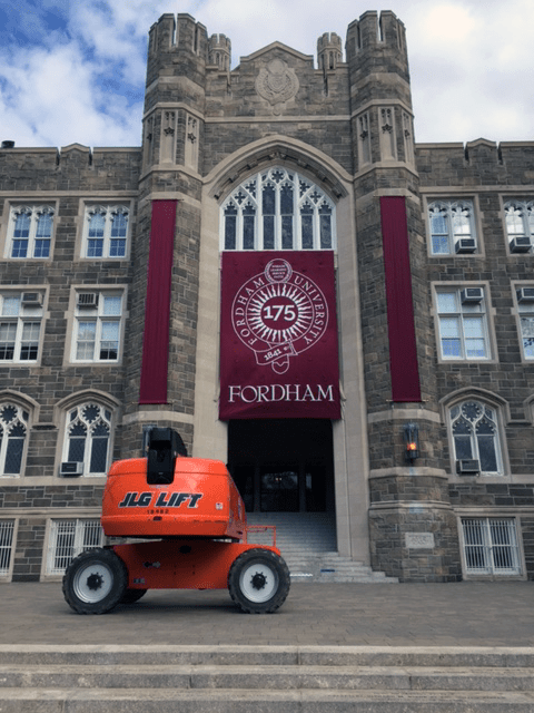 National Flag and Display produces Custom Banners for Fordham University Commencement Ceremonies. Fordham is celebrating its 175th year anniversary.