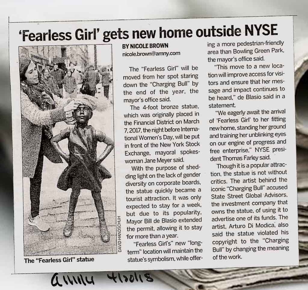 Fearless Girl Explanation