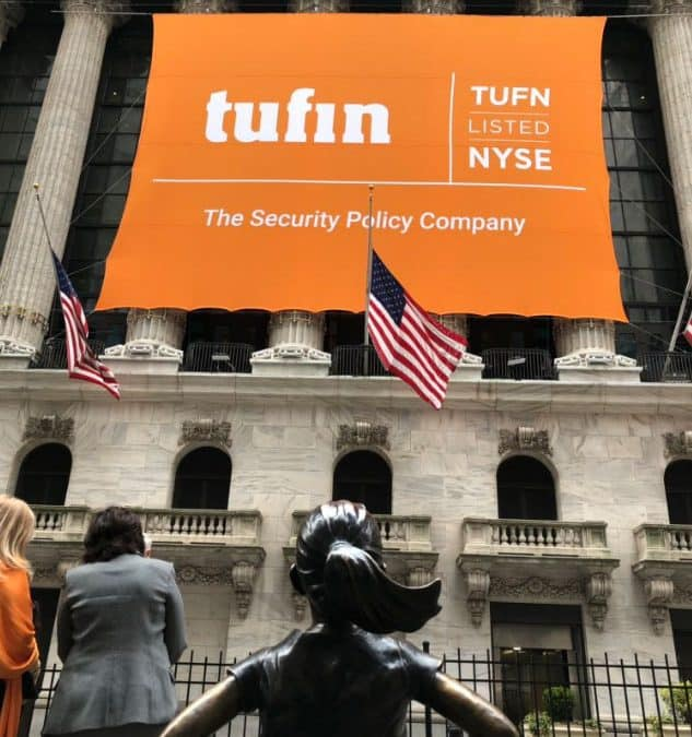 National Flag & Display produces Custom Banners at New York Stock Exchange for Tufin IPO