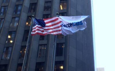 National Flag & Display Produces a Custom Flag for ViacomCBS