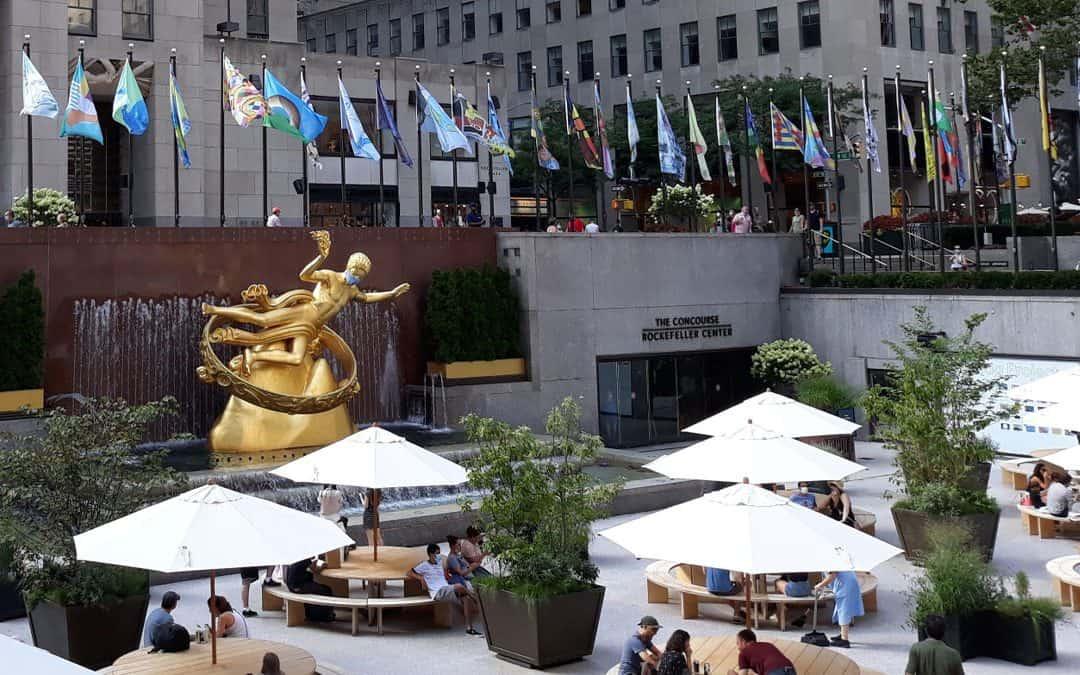 The Flag Project – Rockefeller Center
