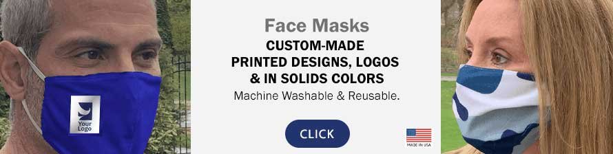 Custom Printed Face Masks Made In The USA - New York NY