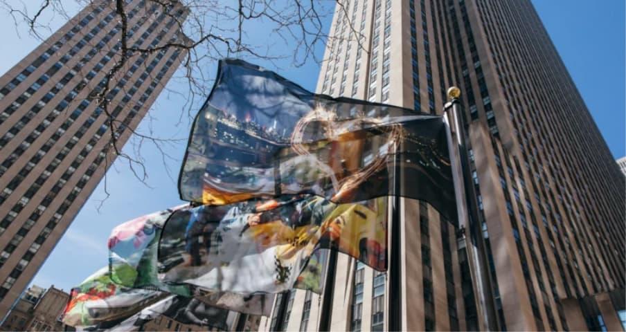 National Flag & Display – 2021 Flag Project Rockefeller Center