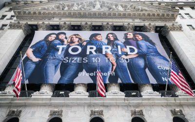 Torrid Company – New York Stock Exchange Custom Banners by National Flag Display